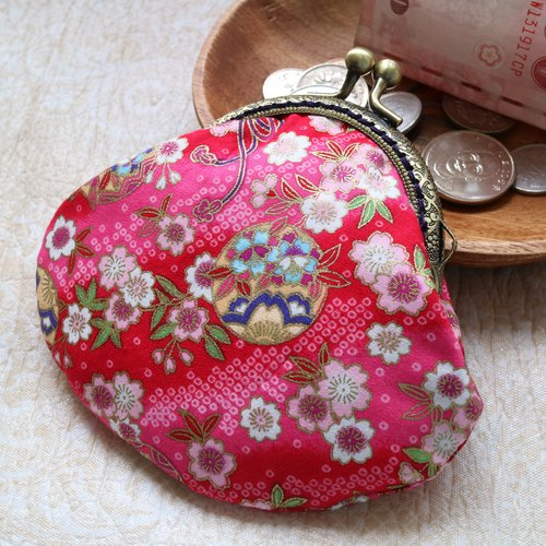 Blue Bird Kisslock frame coin purse | Girlskioku~*