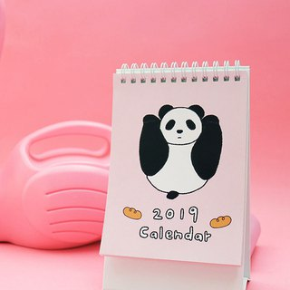 パンダLittle Panda Life / 2019 Straight Desk Calendar