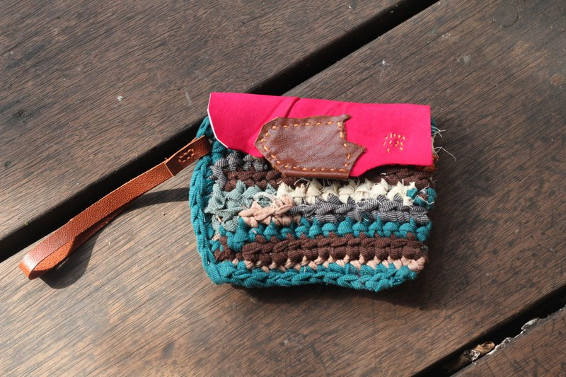 Eco-friendly reusable cloth coin purse - HOPE