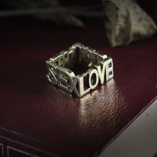 Party and Music Ring,Statement Ring,Wording Ring,Speak Ring,Everyday Jewelry,Layering Ring