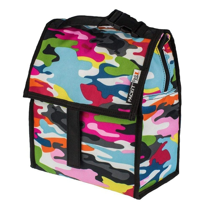 United States [PACKiT] ice cool multi-function freezer bag (bright camouflage) cold bag / breast milk bag
