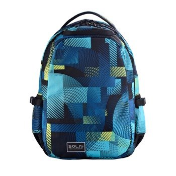 "SOLIS [ Circus Series ] 13"" Ultra+ basic laptop backpack(playful blue)"