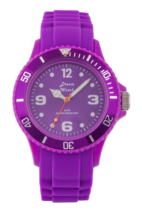 Dream Watch - fashion quartz watch, men and women wear with popular pieces / best holiday gift (purple)