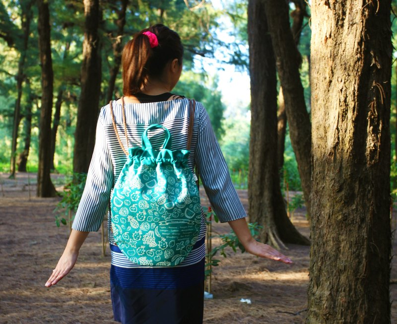 Big whale beam mouth backpack (Taiwan fruit section)