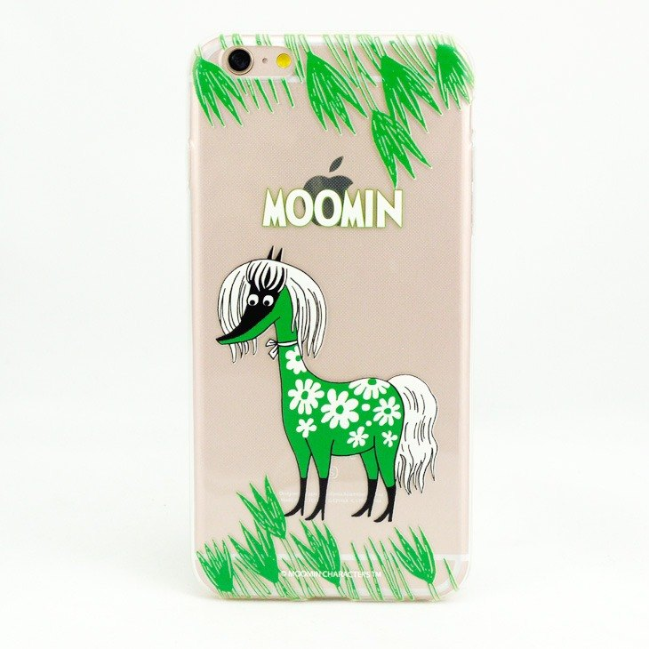 Moomin嚕嚕米正版授權-TPU手機保護殼:【Horse】《iPhone/Samsung/HTC/ASUS/Sony/LG/小米 》