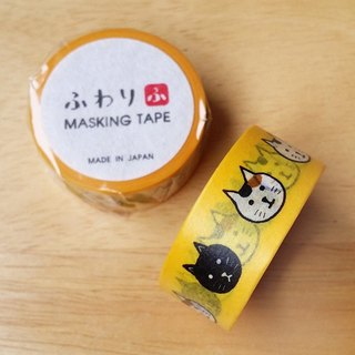Japan Iyo Fuwari and paper and paper tape [cat face (FW47006)]