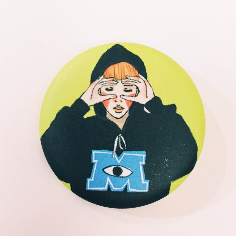 Student of Monster University Button