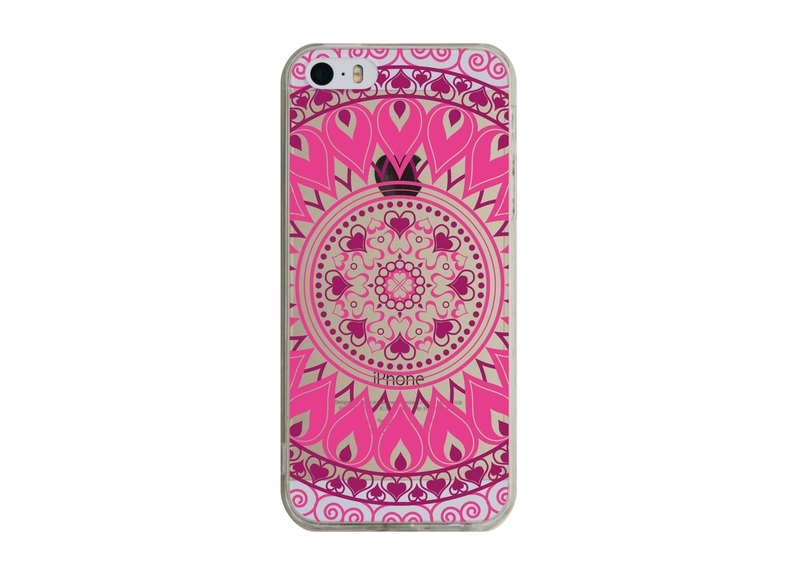 Custom Mandala transparent Samsung S5 S6 S7 note4 note5 iPhone 5 5s 6 6s 6 plus 7 7 plus ASUS HTC m9 Sony LG g4 g5 v10 phone shell mobile phone sets phone shell phonecase