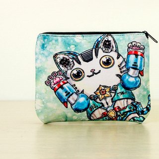 Good 喵 universal bag / wallet / storage bag - 喵金钢