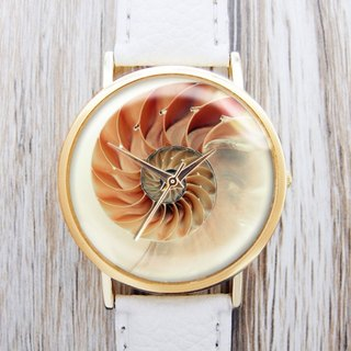 Spiral Shell - Women's Watch / Men's Watch / Neutral Table / Accessories [Special U Design]