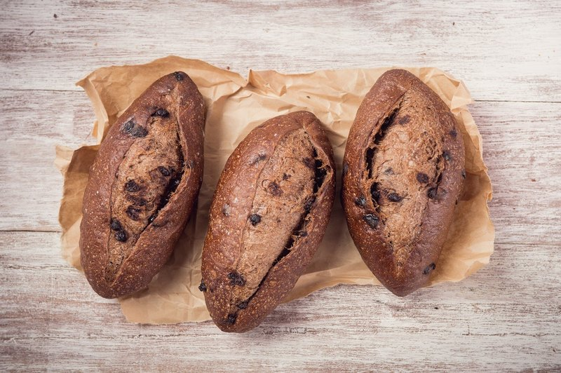 Chocolate French French Bread Handmade