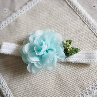 Handmade fabric flower baby/ kid headband