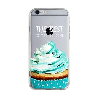 Custom cupcakes inspirational sentence Series 2 Transparent Samsung S5 S6 S7 note4 note5 iPhone 5 5s 6 6s 6 plus 7 7 plus ASUS HTC m9 Sony LG g4 g5 v10 phone shell mobile phone sets phone shell phonecase