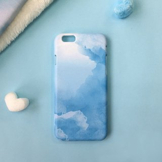 Cloud Blue - iPhone (i5.i6s, i6splus) / Android (Samsung Samsung, HTC, Sony) Original Mobile Shell / Case / Customizable / Christmas Gift