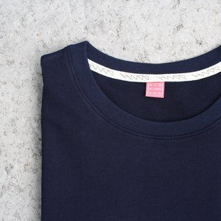 Pure cotton solid green surface Tee - size
