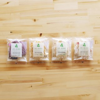 [Forest Pasta / Taiwan Free Shipping] 36 packs combination (spice / hemp sauce / spicy / sand tea / sesame oil / oil onion)