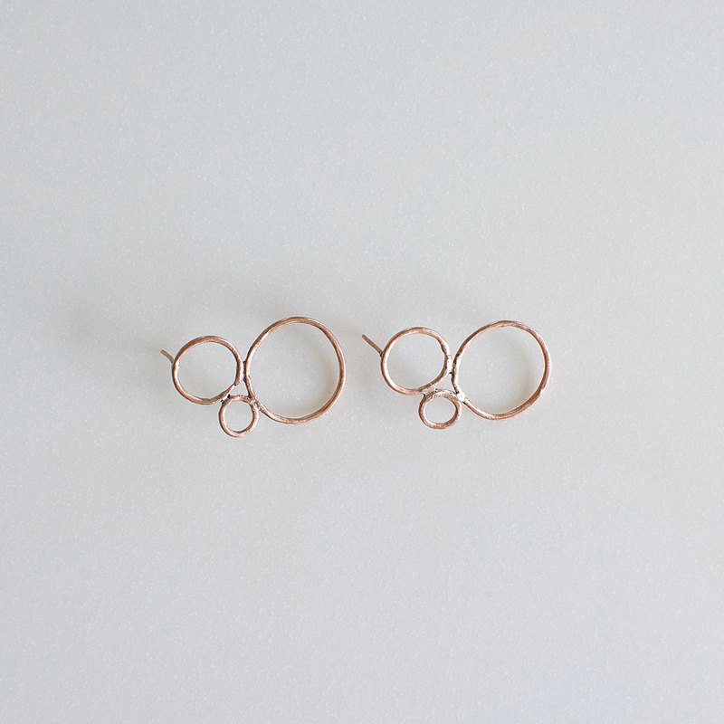 Bubbles Circle Circle Circle | Earrings