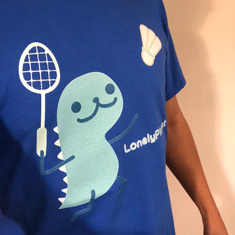 Lonely Planet Cotton T-Dan Nylon Badminton - Customized cannot be returned