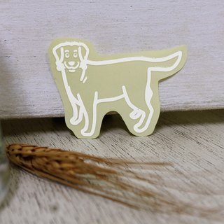 NINKYPUP reflective stickers Labrador 5.5 * 4cm