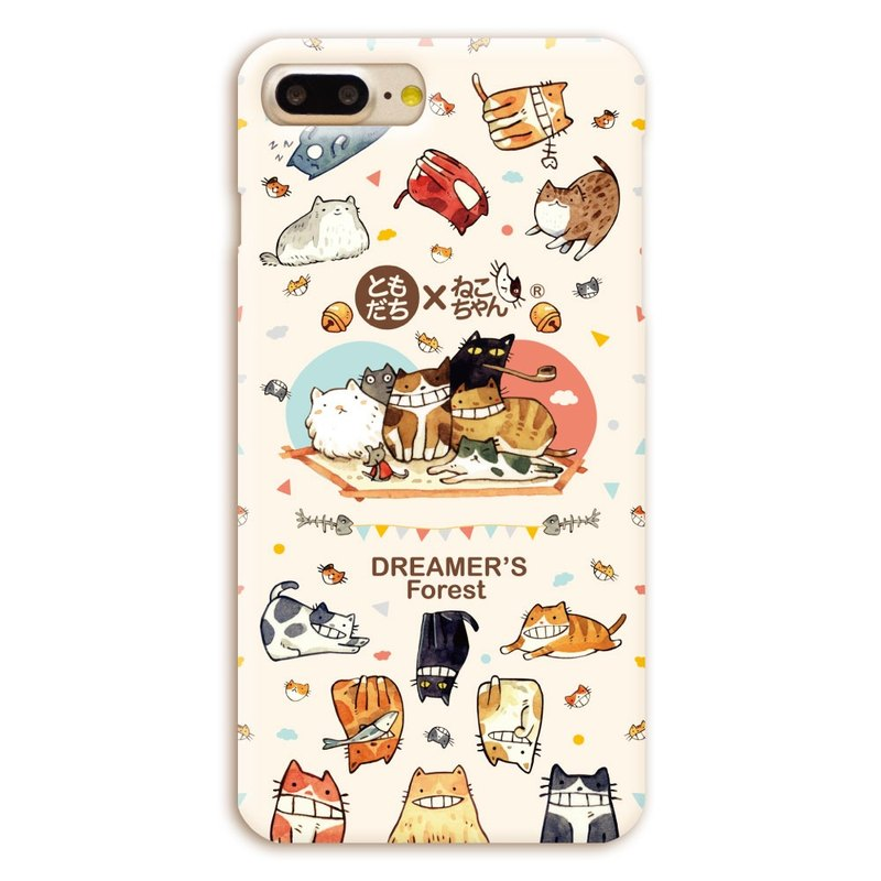 (Spot) afu Illustration Phone Case - iPhone7Plus / 7sPlus - One Hundred Cats Live