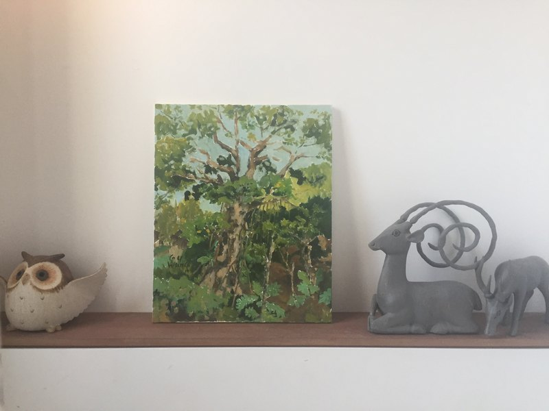 "Oil Painting ""MONKEY KING'S TREE """