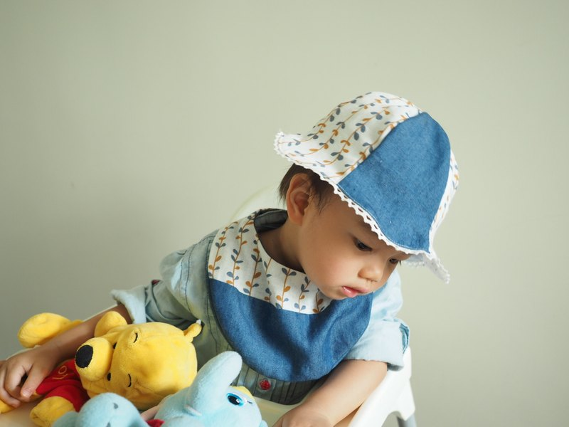 Handmade Hat and Bib Gift Set