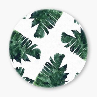 Snupped Ceramic Coaster - 陶瓷杯墊 - Banana leaf Frenzy