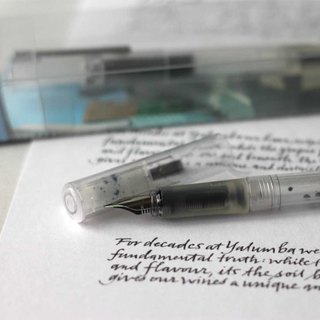 PREMEC | Swiss Simple Transparent Pen Set Easy Plume