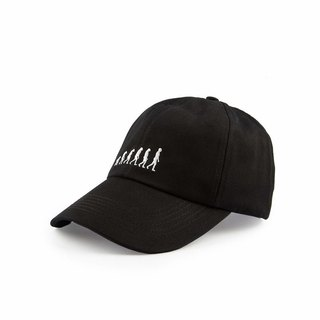 Human Evolution Cap Human Evolution Cap (Black)