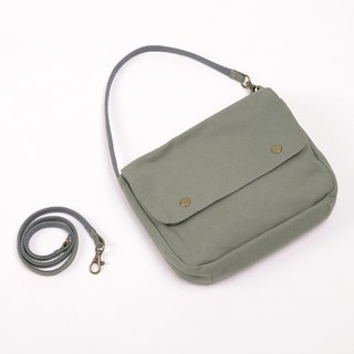 Multi-purpose carry-on packet - gray green