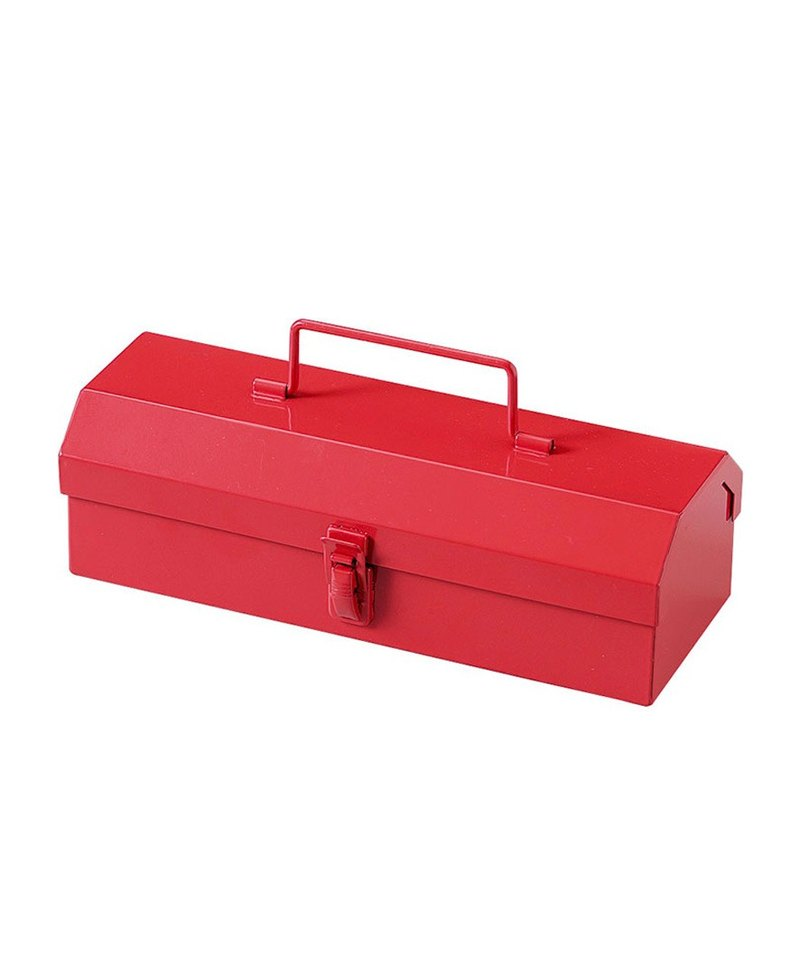 SUSS-Japan Magnets Retro Industrial Wind Toolbox/Pencil Box/Storage Box (Red)