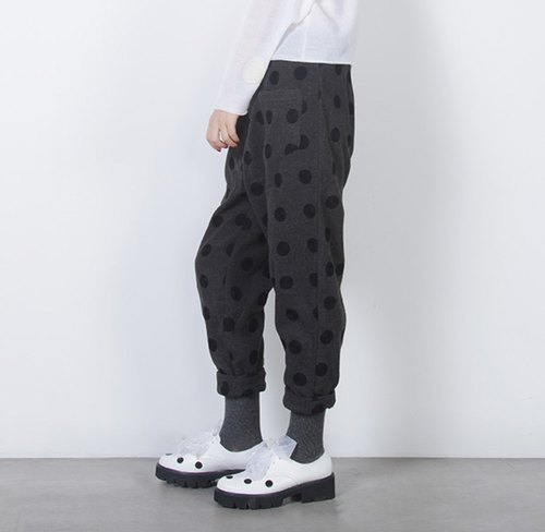 Gray tattoo twilight pants - imakokoni