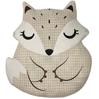 Fairy Land Organic Cotton Pillow - Fox