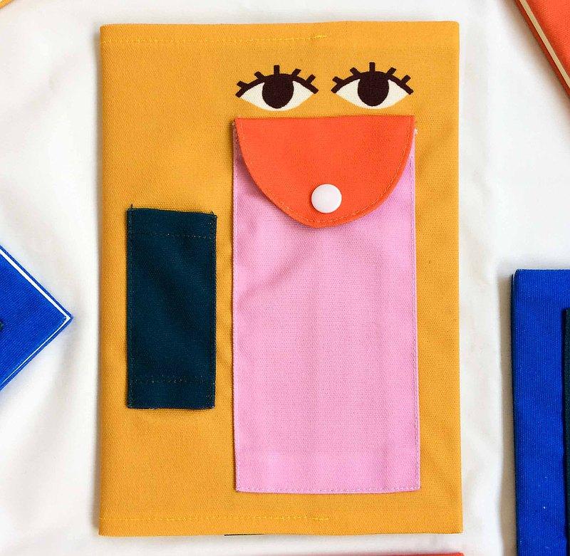 眼器官(黃橡木)筆記本