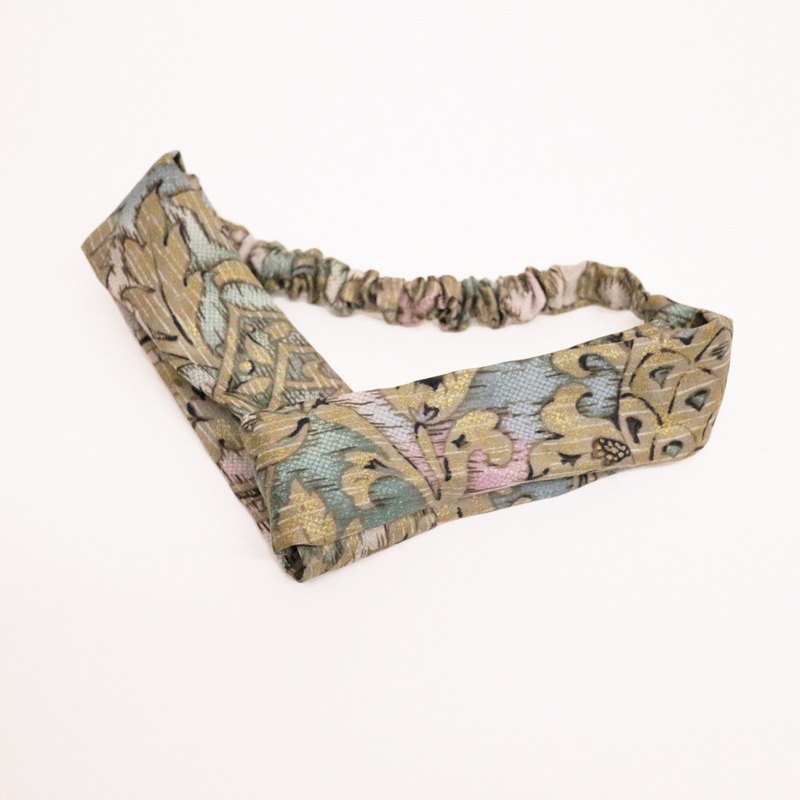 JOJA│ no time to play Wen Qing take the name: Japanese handmade fabric elastic hair bands