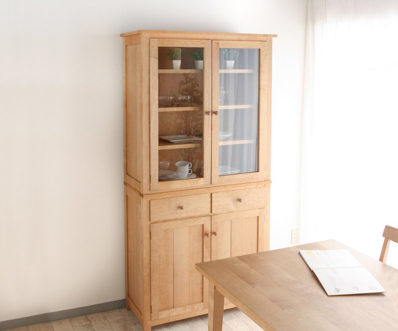 Asahikawa Furniture Yamaoka Wood Industry SALLY Cupboard