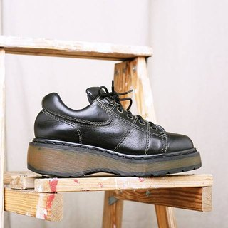 """Dr. Martens Shoes"" black thick mattress shoes DMH02"