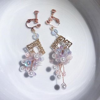 Pearl Tassel Earrings[Monroe]