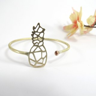 Pineapple geometric bracelet From WABY