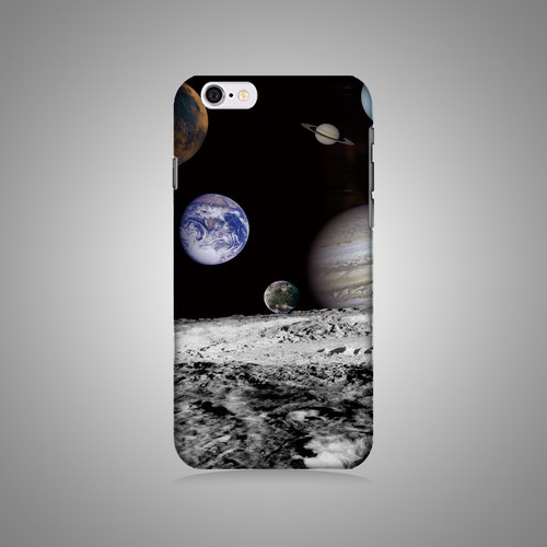 """Shell"" series - the planet (left) original phone shell / protective sleeve (hard shell) iPhone / Samsung / HTC / Sony / LG"