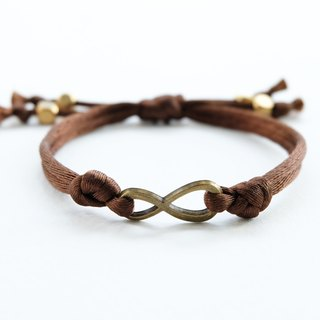 Brown infinity knot