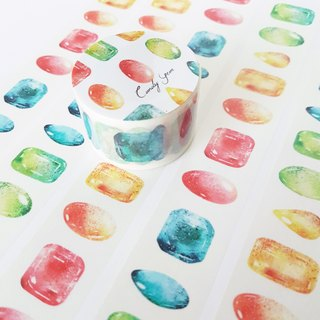 Candy gem paper tape