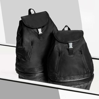 #impeterpeter Backpack in Black (Mini)