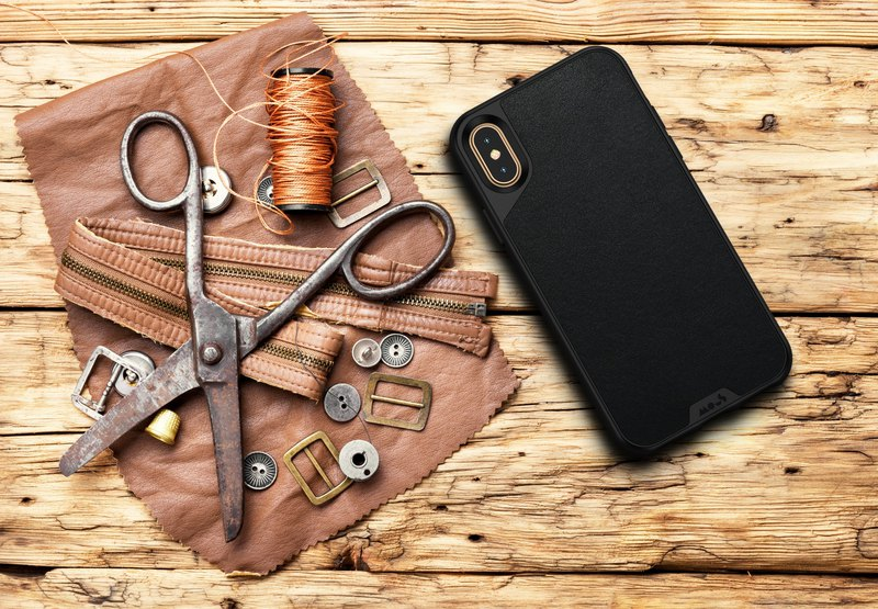 Revolutionary fashion shatter-resistant mobile phone case - British Mous 2 generation - iPhone 6/6S/7/8 - leather