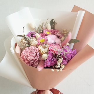 With the real flower || not smell flower bouquet dry flower hand for marriage bouquet