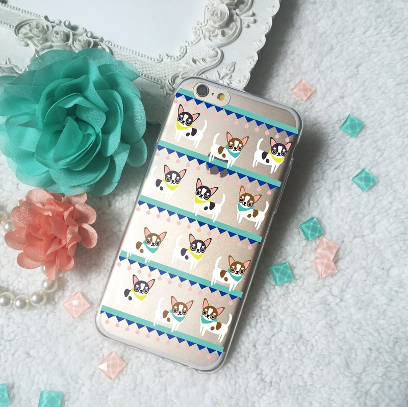 Chiwawa Dog Clear TPU Phone Case iPhone X 8 8 plus 7 + Samsung Note 8 S8 S7 sony