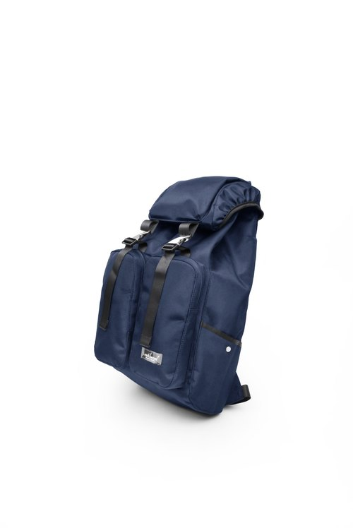 Matchwood Design Matchwood Defender Backpack Waterproof Notebook Backpack Navy Blue Christmas Gift Bag Travel