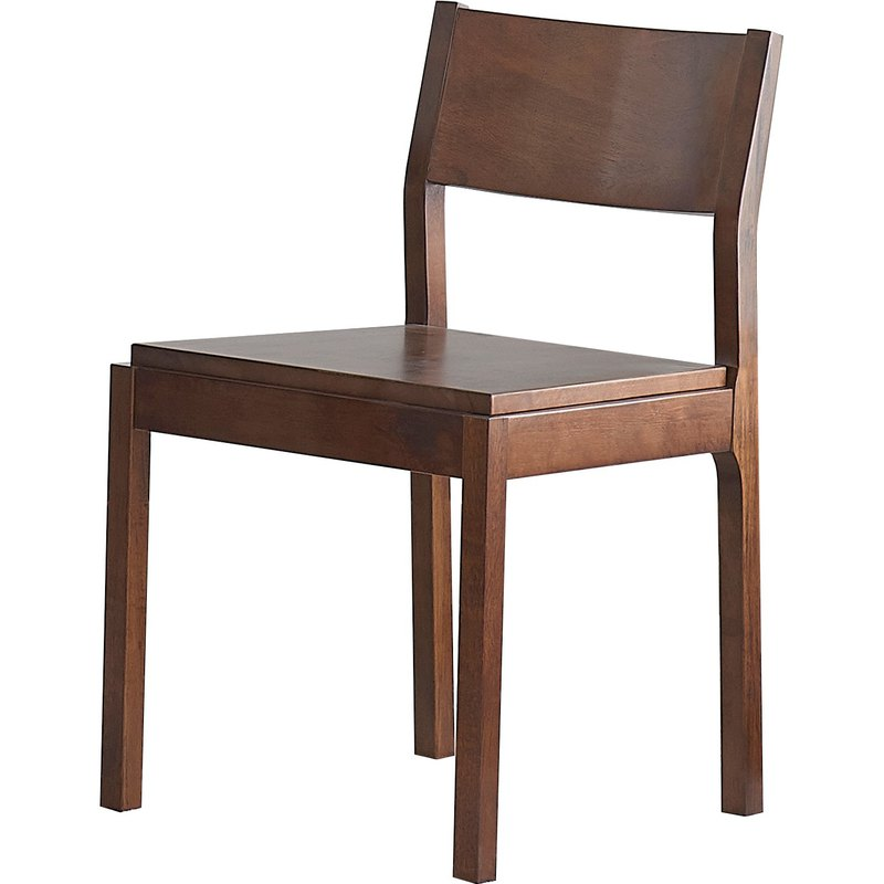 Vis Green Nordic Modern Japanese Solid Wood Dining Chair