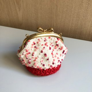 Handmade Wrapping Bag - Pink Berry Wallets