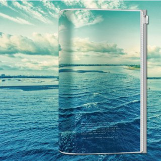 KEEP A NOTEBOOK write notes CKN-033 A5 Slim transparent accompanying book _ C. Bibo million ares